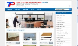 Thiết kế web Joint Stock Company Tan Phat office equipment